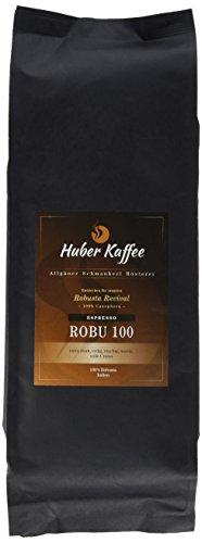 Huber Kaffee Espresso Robu100, 100% Robusta, 1 kg