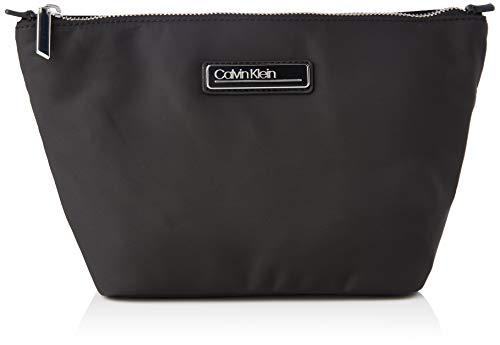 Calvin Klein WASHBAG MD, Accessori Portafogli da Viaggio Donna, Black, One Size