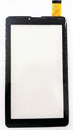 Touch Screen Digitizer for Intex Wisp, 3GTablet -Black