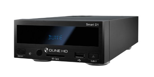 Dune HD Smart D1 (Full HD, HDMI, LAN, 3x USB host, eSATA, SD cardreader, File browser, Musikwiedergabe, Bittorent, Internet-Radio, Webbrowser, Sigma Designs 8642/8643, Movies, Series, Music, Pictures)