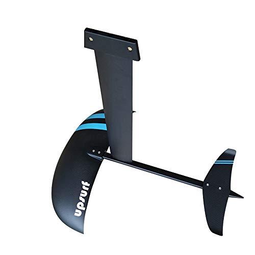 UPSURF Aluminum hydrofoil AD-H5 Aluminium Foil for Sup Surfboard,Windsurfing 3k Carbon Wings (AD-M2a.mast 650mm)