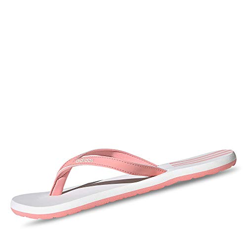 adidas Women's Eezay Flip Flop Sneaker, Glory Pink/Cloud White/Glory Pink, 9 UK