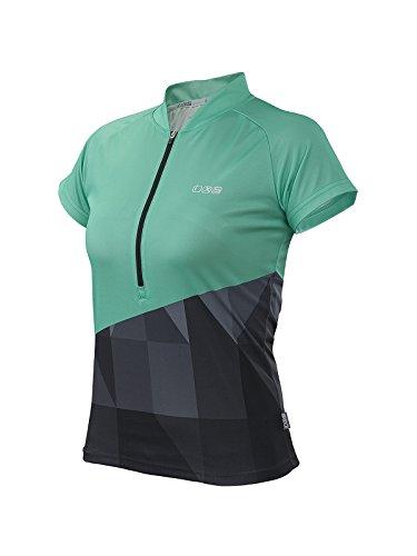 IXS Damen Jersey Sablun, green/Black, 38
