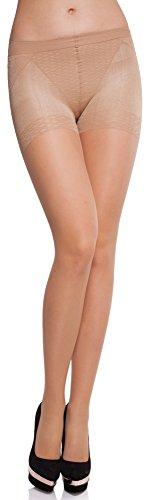 Merry Style Damen figurformende Strumpfhose MS 127 20 DEN (Melisa, L (40-44))