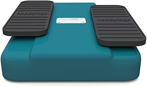 Happylegs - Ejercitador de Piernas Gimnasia Pasiva para Mayores y Jóvenes Apto para Rehabilitación. La Máquina de Andar Sentado que Ayuda a Mejorar la Circulación. (Azul) ✅