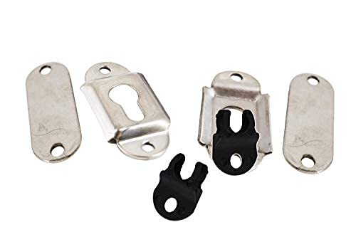 304 Stainless Steel mounting sockets/Brackets for Removable Folding transom ladders