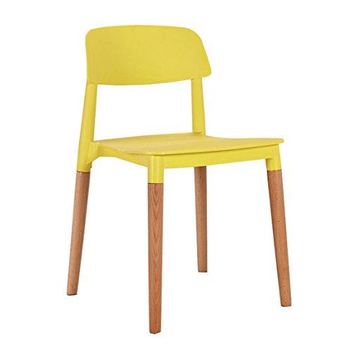 LRW Moderne, eenvoudige houten eetstoel, huisstoel, koffiestoel,