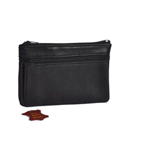 Porte-Monnaie plat - Cuir véritable - Homme - Pour poches pantalon ou veste