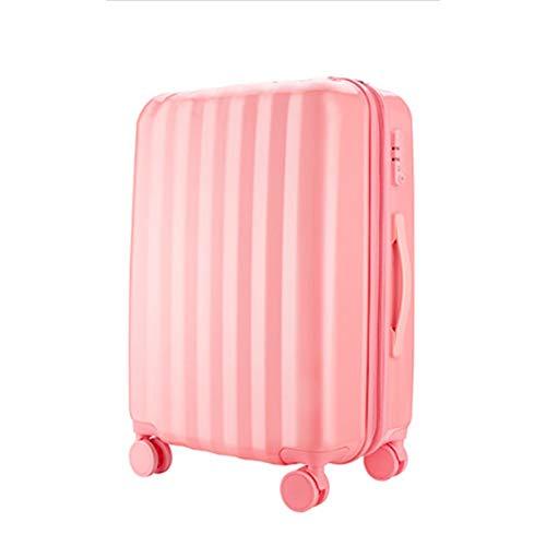 DWEMM Handgepäck Hartschalen-Koffer Trolley Rollkoffer Reisekoffer,Kinderwagen, Mädchen Reisen, TSA-Passwortsperre,4 Rollen, 36-55 Liter