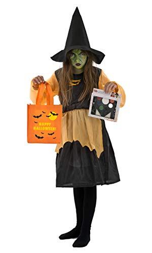 Outfit voor Halloween - heks