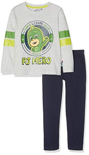 PJ Masks Jungen Pyjama 5406, Grau, 104