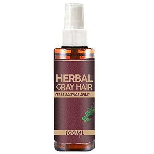 100ml Scalp Nourishing , Hair Enhancement Spray for Women, Organic Natural Fast Hair Dye, Hair Darkening Spray for Women to Darken Hair to Reduce Gray Hair