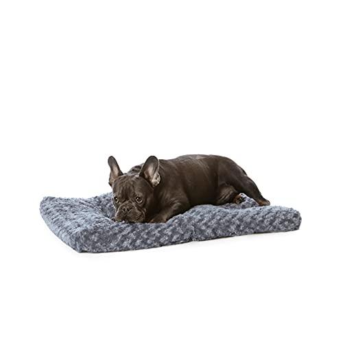 Amazon Basics - Materassino per animali domestici - 0,73 m, grigio con motivi a spirale