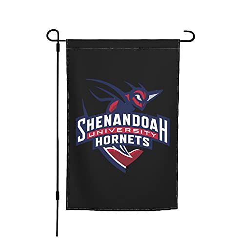Wiuxoht Shenandoah University Logo Garden Flag Double Sided Bunting for Indoor Outdoor Home Garden Yard Decoration