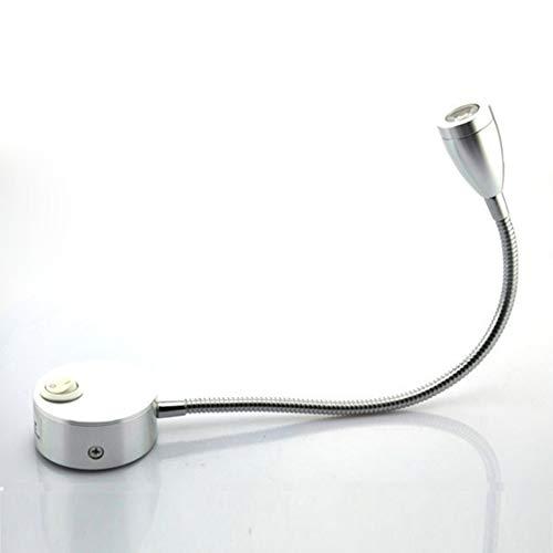 Luces de Lectura Cabeceros, Luz de Lectura de Cabecera con Función de Memoria e Interruptor Lámpara de Lectura de Cama LED Cabecero Pared