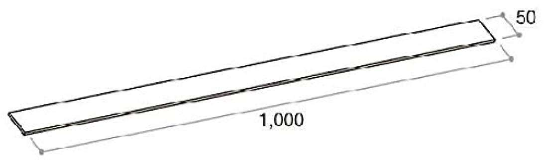 ラジカルダーツのり施工調整スペーサー 20枚(厚さ 3mm 幅 50×長さ 1000)(2K-29622) ブルー