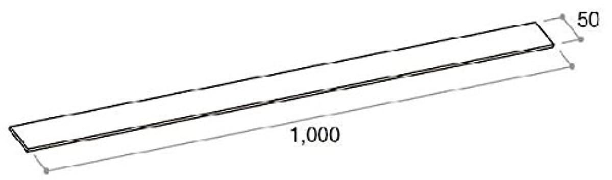 文房具ウィザード田舎施工調整スペーサー 20枚(厚さ 3mm 幅 50×長さ 1000)(2K-29622) ブルー