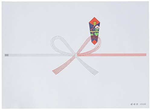 オキナ のし紙 祝切手 100枚入 N240