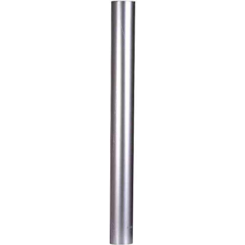 FIREFIX A110/1 FAL 1.000 mm, ø 110 mm-Ofenrohre aus Stahlblech, 0,6 mm stark, innenliegend gemufft, Längen lasergeschweißt, Silber