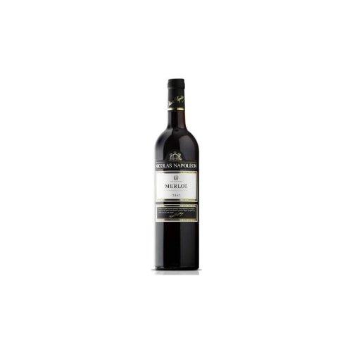 Nicolas Napoléon Nicolas Napoléon Merlot Rouge, Vin de Pays de Méditerranée 0,75l