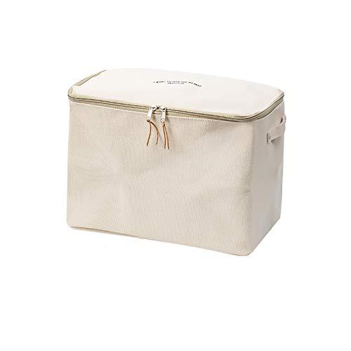 YUMEIGE Caja de almacenamiento de cosméticos Caja de almacenamiento de colchas, Caja de acabado de armario a prueba de humedad, bolso de almacenamiento de ropa para el hogar, caja de almacenamiento de