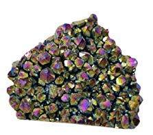 Crystal Cave Titanium Rainbow Aura Quartz Druzy Stone 172 gram Specimen Collector AAAAA +++++