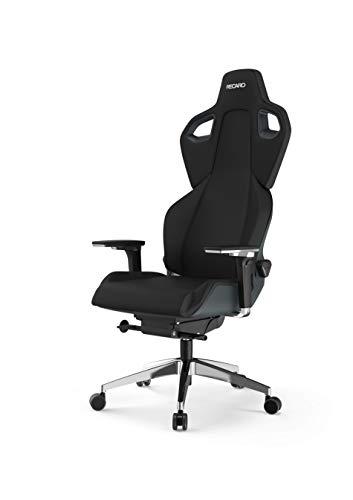 RECARO Exo FX Gaming Chair – Ergonomischer, höhenverstellbarer Stuhl für Gamer mit 5D-Armlehne – Pure Black