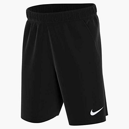 Nike Dri-Fit Park, Pantaloncini da Calcio Bambino, Nero/Nero/Bianco, M