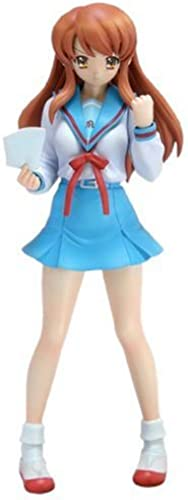 Melancholy of Haruhi Suzumiya ; Asahina Mikuru School Uniform Ver. [1 10 Scale PVC] (japan import)