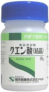 食添 クエン酸(結晶) 25g×10個