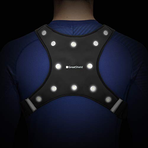 GreatShield Sport LED Safety Vest - GLO...