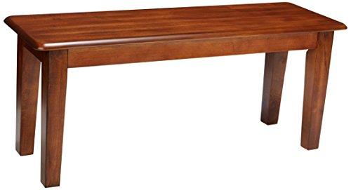 Ashley Furniture Signature Design - Berringer Dining Bench - Rectangular - Vintage Casual - Rustic Brown Finish
