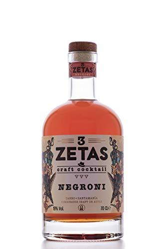 "SANTAMANIA Ready to Drink CRAFT COCKTAIL""3 ZETAS NEGRONI"""
