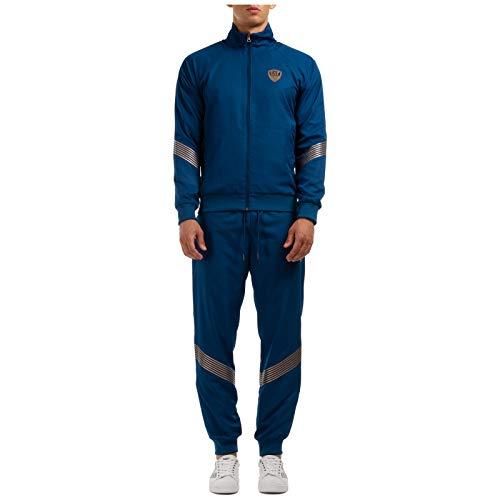 Emporio Armani EA7 Herren Trainingsanzug Ventus 7 Blue Opal M