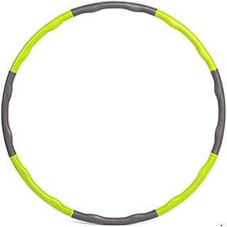 Aro de hula para adultos MAILIER para perder peso rápido, para viajar, quemar grasa, saludable, desmontable y tamaño ajustable