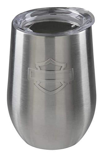 Harley-Davidson Silhouette B&S Stainless Steel Wine Tumbler - 15 oz. HDX-98631