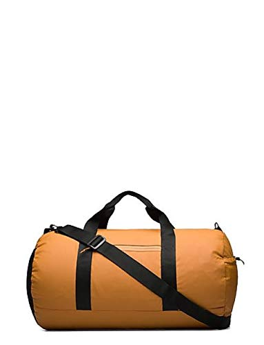 RAINS Women's Ultralight Duffel Gym Bag, Camel, one size