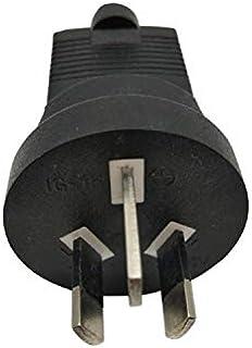 Tekit PDU UPS Power Plug Converter Adapter,USA NEMA 5-15R to Australia AU/New Zealand AS3112 Three Prong Molded Travel Plu...