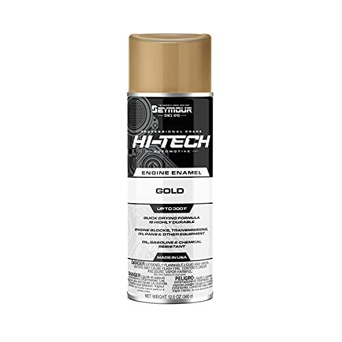 Seymour EN-50 Hi-Tech Engine Spray Paint, Universal Gold