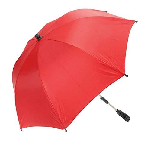 Xiaojing Protable Paraguas del Bebé Niños Coloridos Niños Cochecito Sombrilla Parasol Ajustable...