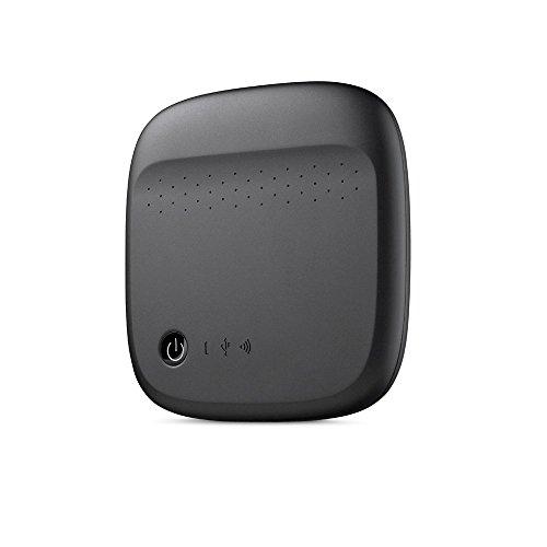 Seagate Archive HDD Wireless Mobile Storage - Disco Duro Externo (500 GB, USB 2.0, HDD, Inalámbrico y alámbrico, 2.0, Negro)