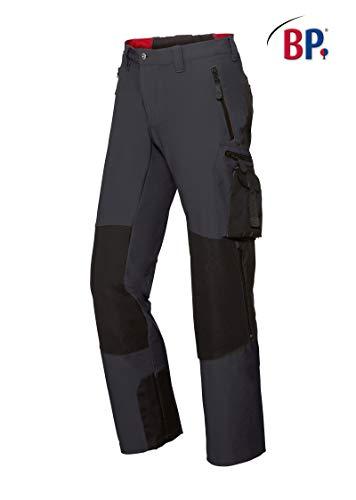 BP 1861-620-5632 Workwear heren Superstretch broek, polyamide en elastaan, antraciet/zwart, maat 52l