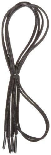 Maddak Perma-Ty 24 Black Elastic Shoelaces (Pack of 3 Pairs) (738140024)