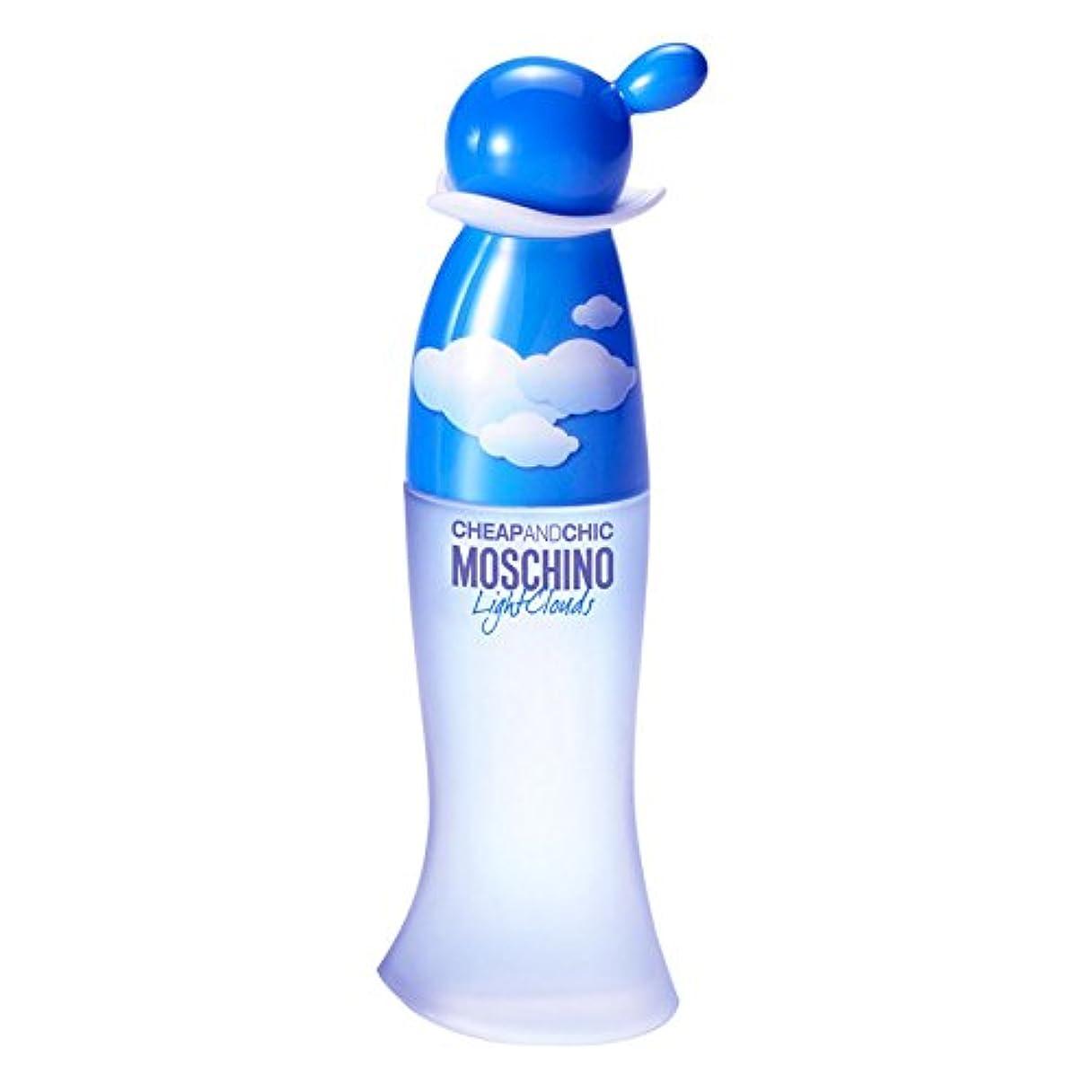 鼓舞する観客大胆Moschino Cheap & Chic Light Clouds (モスキーノ チープ&チック ライト クラウド) 3.4 oz (100ml) EDT Spray