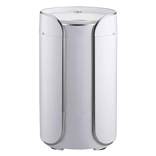 WCJ mini-wasmachine, 2-in-1, draagbare, halfautomatische wasmachine, materiaal: kunststof, afmetingen: 345 x 345 x 598mm