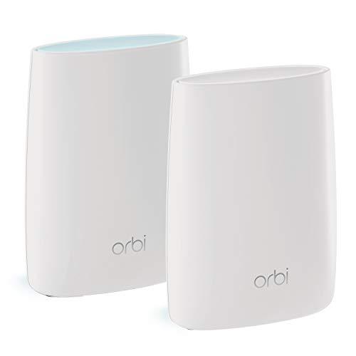 NETGEAR Système WiFi Mesh Tri-Bandes Orbi (RBK50), AC3000, pack de 2, un...