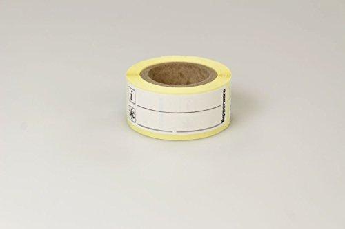 TUPPERWARE Gefrier-Etiketten E33 Rolle mit 100 Gefrieretiketten schwarz 15468
