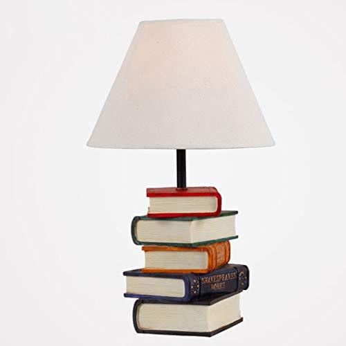CKQ-KQ Tafellampen, Personality Simple European Creative Arts Books Bedroom Lamp, S Study Lamp, Reading Night Light wandlamp