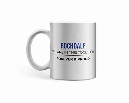 Rochdale FC Ceramic Rochdale Mug/Cup