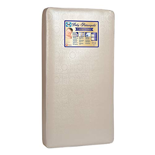 Great Features Of Baby Posturepedic Crown Jewel Crib Mattress Metal Steel Vinyl